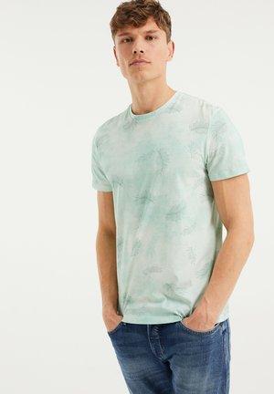 Print T-shirt - light green