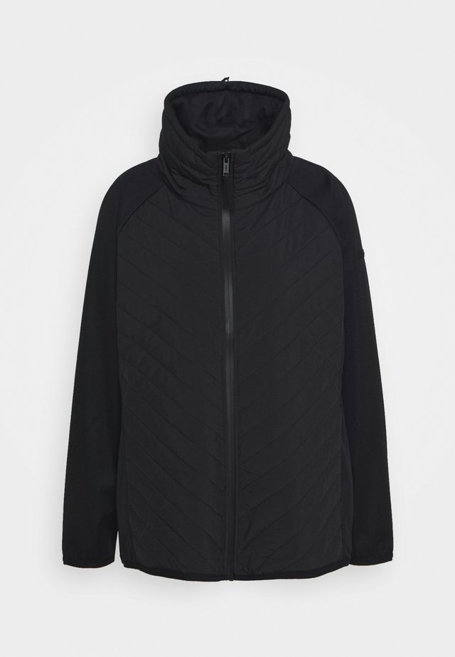 WOMAN HYBRID JACKET - Outdoor jacket - nero
