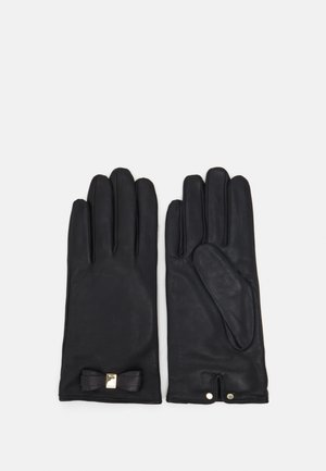 FRANNCA BOW DETAIL GLOVE - Handsker - black