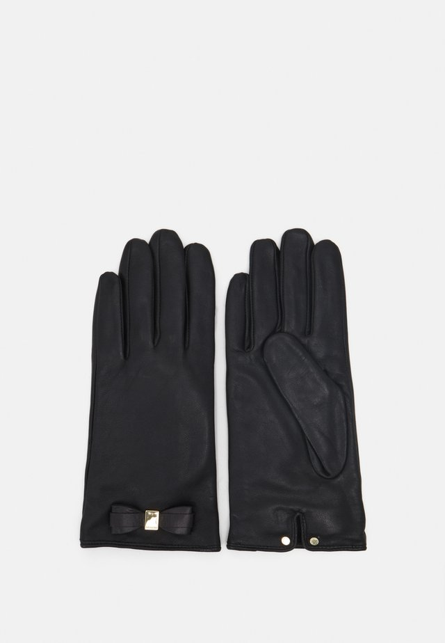FRANNCA BOW DETAIL GLOVE - Fingervantar - black