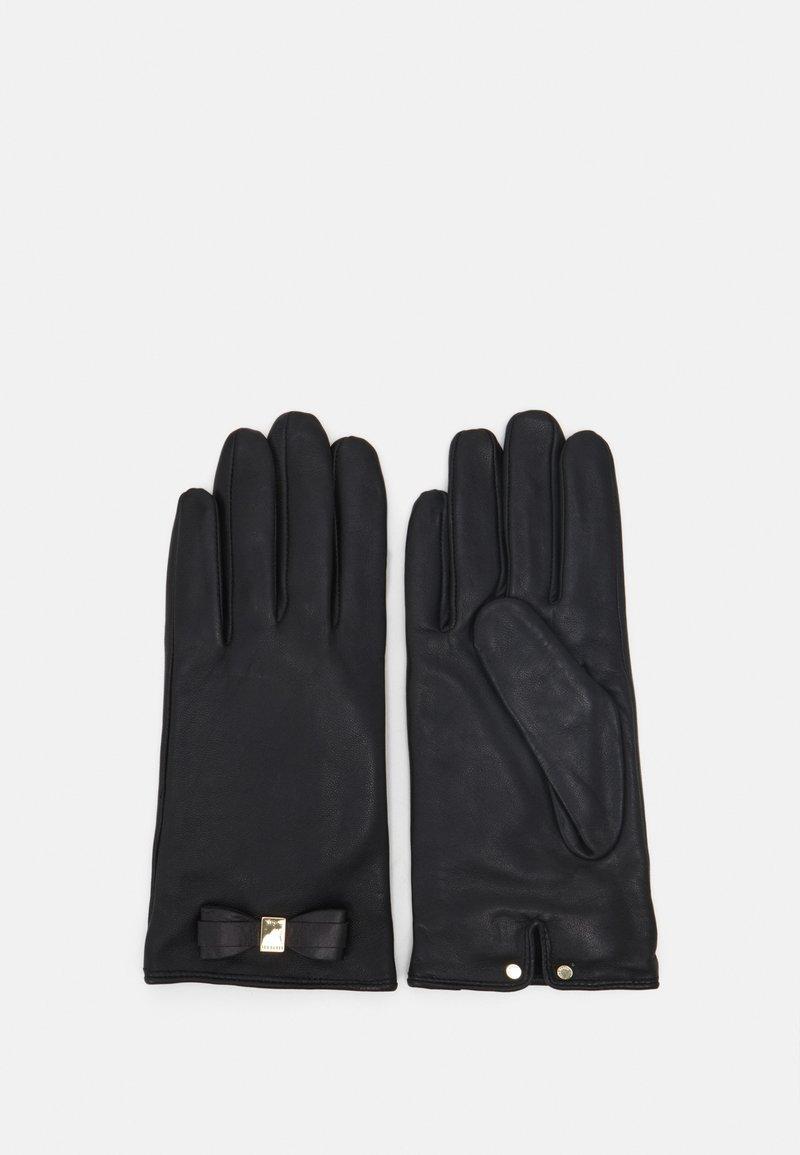 Ted Baker - FRANNCA BOW DETAIL GLOVE - Gloves - black