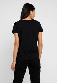 AllSaints - EMELYN TONIC TEE - T-shirts basic - jet black - 2