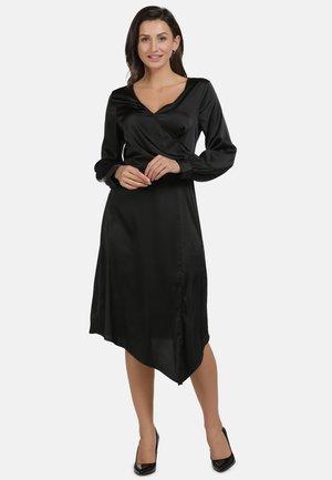 MIDI-KLEID - Day dress - black