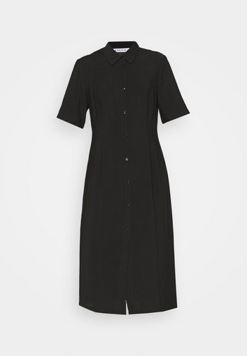 LAILA DRESS - Shirt dress - schwarz