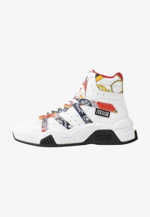 Sneakers hoog - bianco ottico