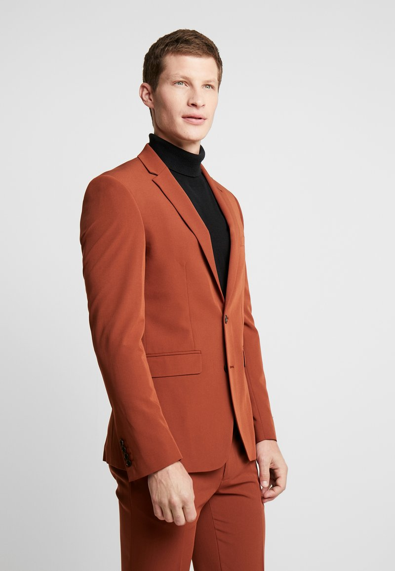 Burton Menswear London - CONKER STRETCH - Suit jacket - brown