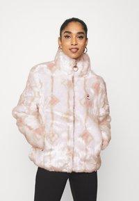 Fila - HARUTO JACKET - Winter jacket - blanc de blanc/sepia rose - 0