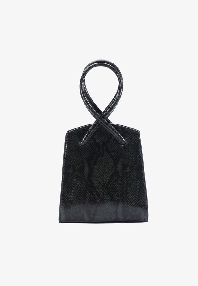 ALLA PUGACHOVA - Handbag - snake-green