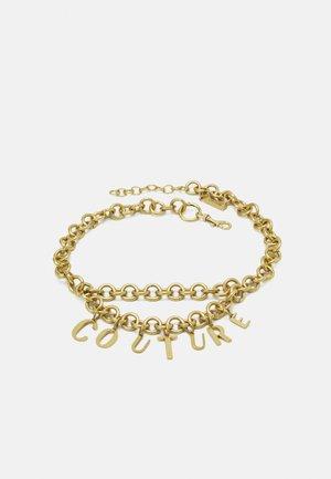 LETTERING BELTS - Belt - gold-coloured