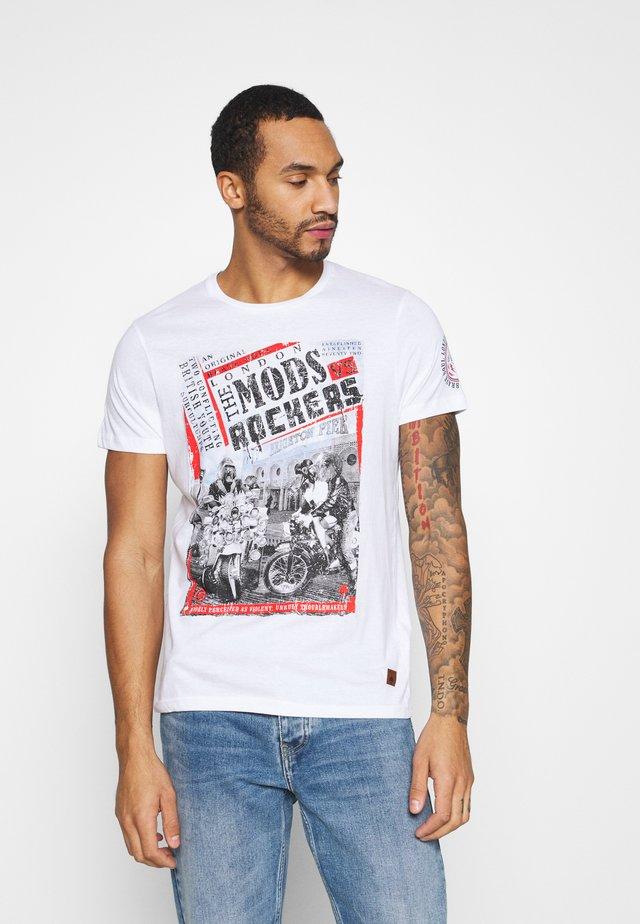 YOUTH - Camiseta estampada - optic white