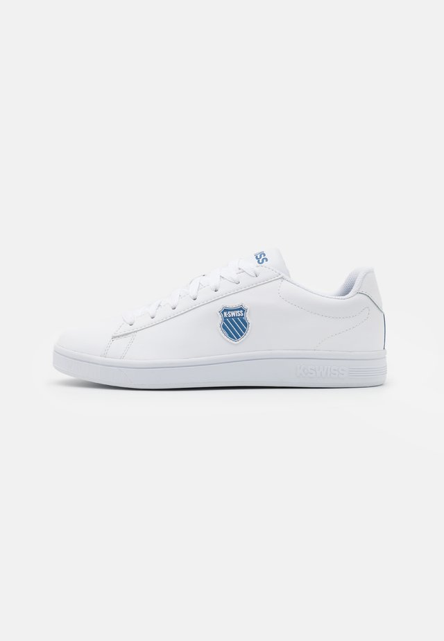 COURT SHIELD - Sneakers laag - white/blue horizon/sky blue