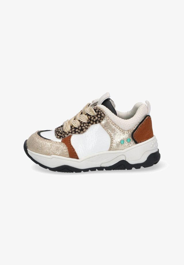 CHARLY CHUNKY - Sneakers laag - white