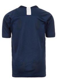 Nike Performance - STRIKER  - Print T-shirt - dark blue - 1