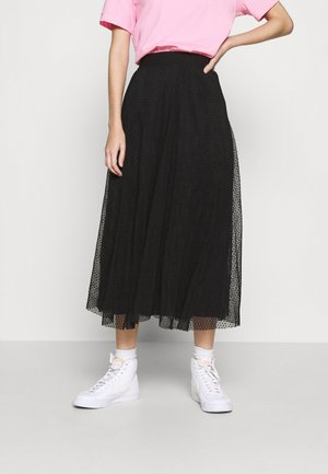 ONLETTA SKIRT  - A-Linien-Rock - black