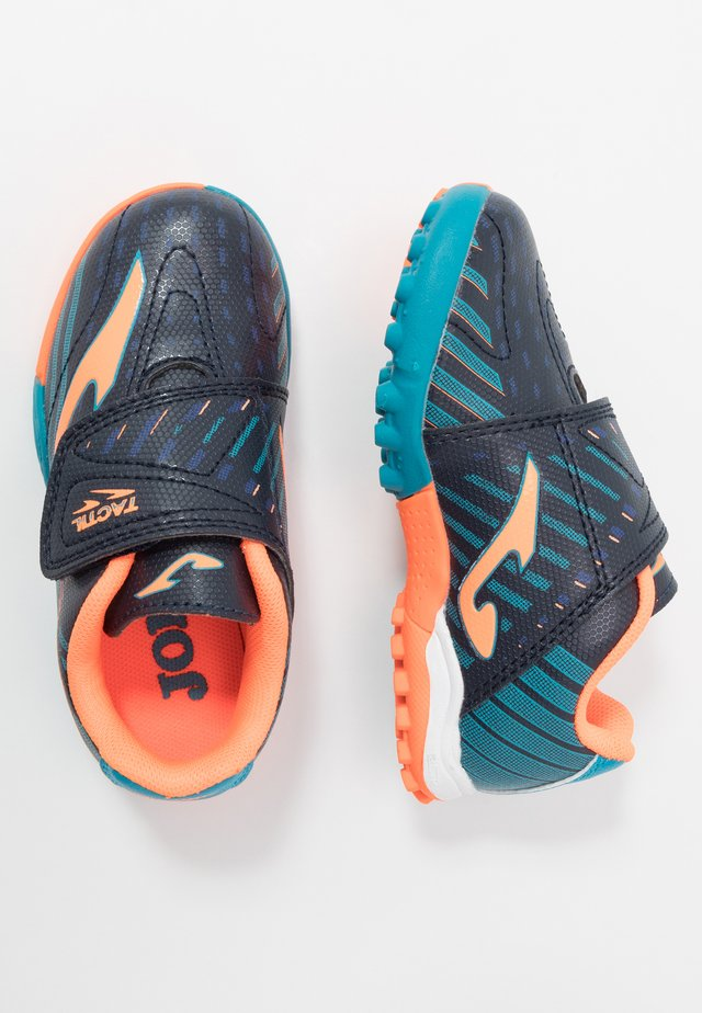 TACTIL - Astro turf trainers - blue