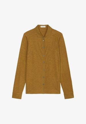 Button-down blouse - golden hour