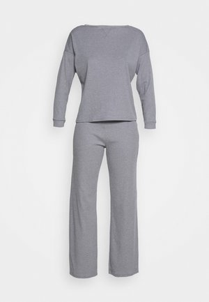 LONG SLEEVE TWOSIE - Pyjamas - light grey