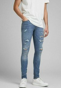 Jack & Jones - LIAM ORIGINAL  - Jeans Skinny Fit - blue denim - 0