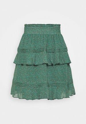 YASNONA - Mini skirt - pale aqua