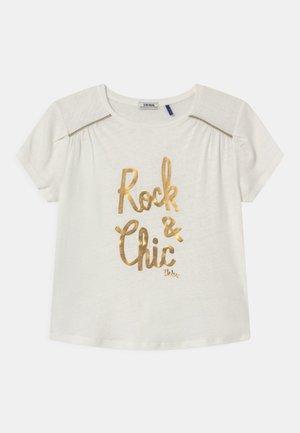 TEE - T-shirt print - blanc