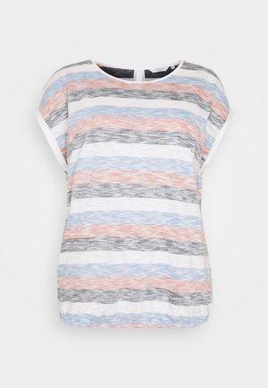 INSIDE STRIPE - T-shirt print - blue/multicolor