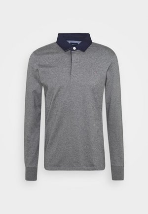 THE ORIGINAL HEAVY RUGGER - Polo shirt - mottled dark grey