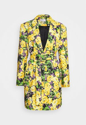 FLEUR - Short coat - yellow