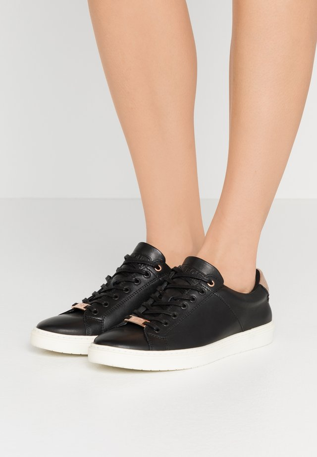 HERRERA - Sneakers laag - black/rose gold