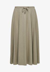 s.Oliver - A-line skirt - summer khaki - 6