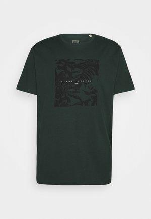 T-shirt imprimé - teal blue