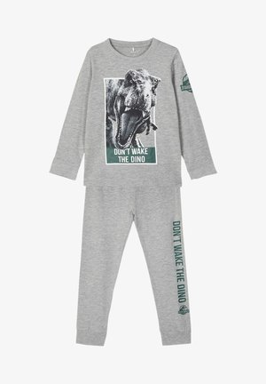 JURASSIC WORLD SET - Pyjama - grey melange