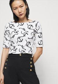 Lauren Ralph Lauren - Long sleeved top - white/polo black - 3