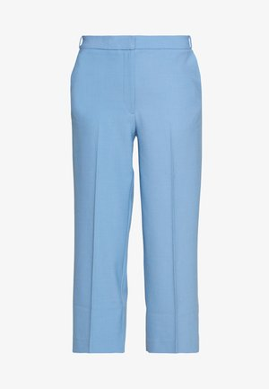 CROPPED TROUSER - Trousers - sky blue