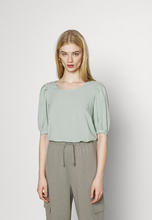 ONLKARMA LIFE  SOLID - T-shirt basic - jadeite