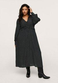 Mango - ROSE - Maxi dress - zwart - 0
