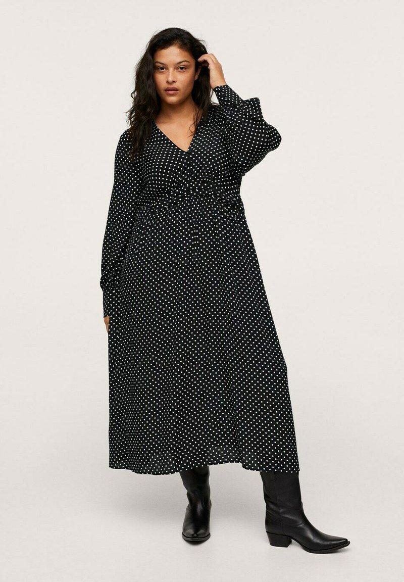 Mango - ROSE - Maxi dress - zwart