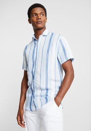 STRIPED - Shirt - blue