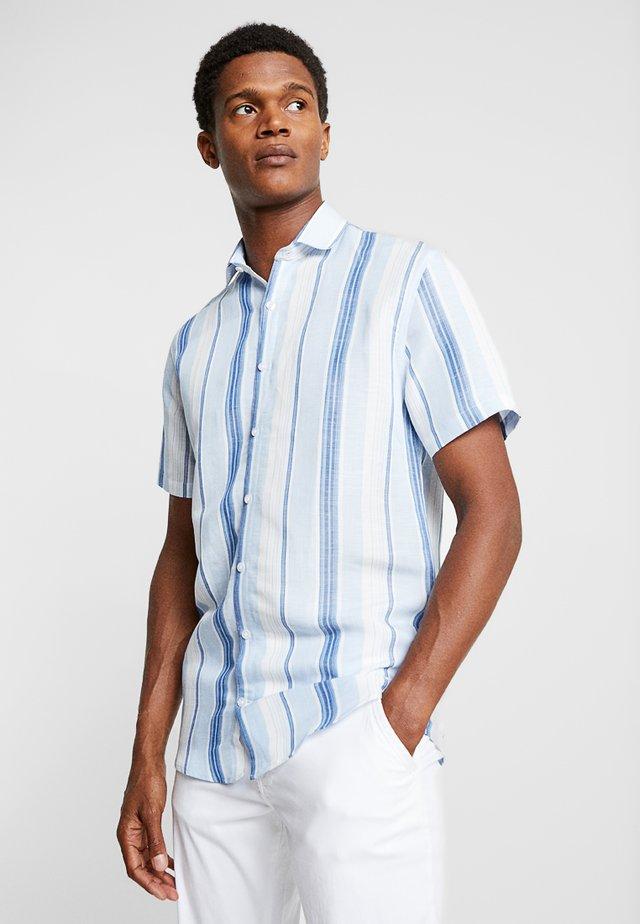 STRIPED - Camisa - blue