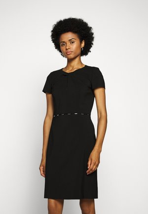 KILENE - Shift dress - black