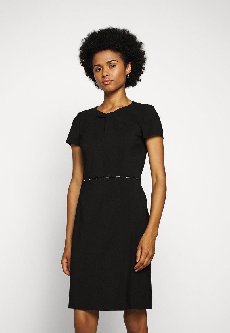 HUGO - KILENE - Pouzdrové šaty - black