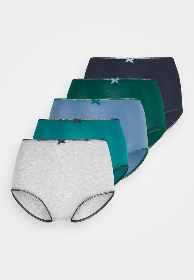 TONAL 5 PACK - Panties - blue
