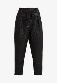 Allen Schwartz - WILSON PAPERBAG PANT - Pantalon classique - jet - 3