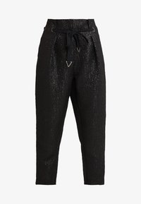 WILSON PAPERBAG PANT - Kalhoty - jet