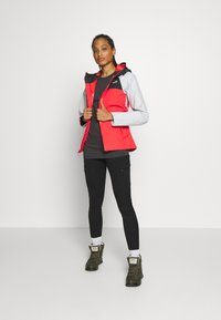 The North Face - WOMENS SIMPLE DOME TEE - Topper langermet - asphalt grey - 1