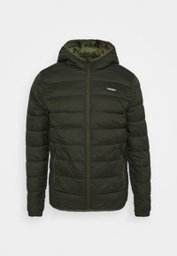 Jack & Jones - JJVINCENT PUFFER HOOD - Winterjas - rosin - 3