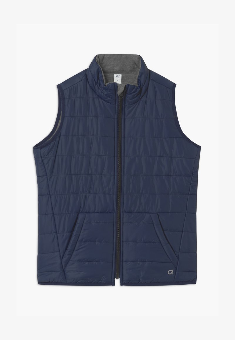 GAP - BOYS FIT TECH - Waistcoat - grey