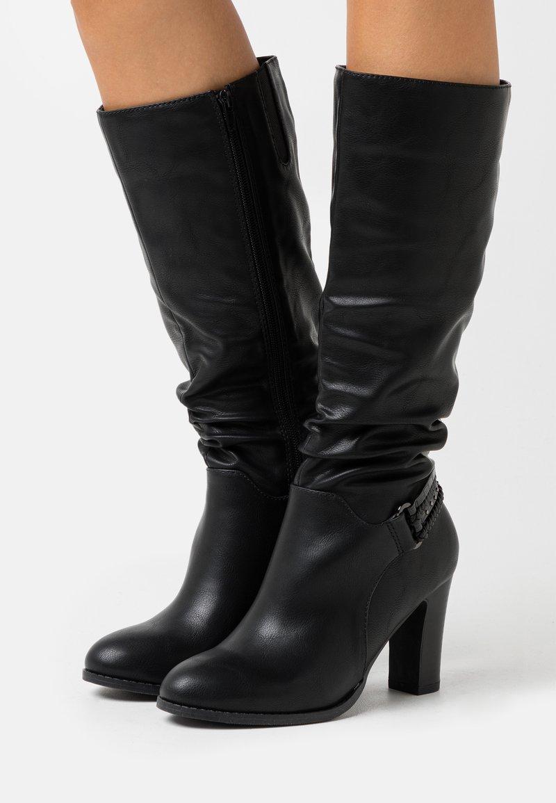 Wallis Wide Fit - WIDE FIT WILD - Boots - black