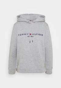 Tommy Hilfiger - REGULAR HOODIE - Sweatshirt - light grey heather - 4