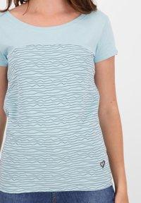 alife & kickin - Print T-shirt - ice - 4