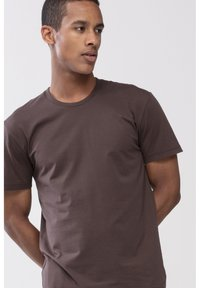 Mey - T-SHIRT SERIE DRY COTTON COLOUR - Undershirt - mocca - 2